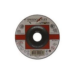 01 Doorslijpschijf, staal /rvs Ø 115 mm recht dikte 1