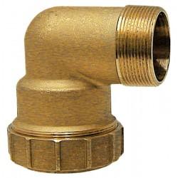 05 knie 90° aansluiting 1 1/2'' buitendraad naar 50 mm pe