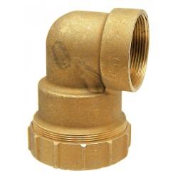 03 knie 90° aansluiting 1'' binnendraad naar 32 mm pe