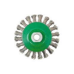 03 Kegelborstel Ø 100 mm gedraaid rvs