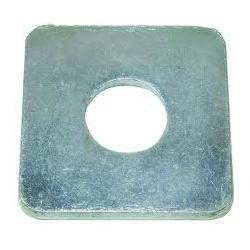 01 vierkante sluitplaat M8