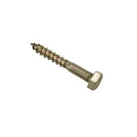 09 Houtdraadbout 12 x 130 mm RVS