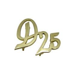 13 Embleem D25