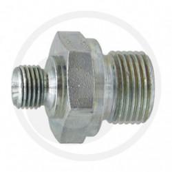 04 Rechte adapter GA 1/4 M-BSP x M12 M-MET