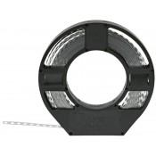 01 Montageband 12 x 0.75 mm 10 meter verzinkt
