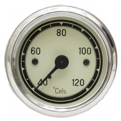 01 Temperatuurmeter mechanisch inbouwmaat 60 mm