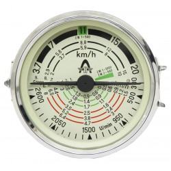 13 Tractormeter 100 mm inbouwmaat tot 20 km/h