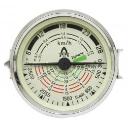 14 Tractormeter 100 mm inbouwmaat tot 28 km/h