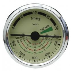 15 Tractormeter 80 mm inbouwmaat tot 20 km/h