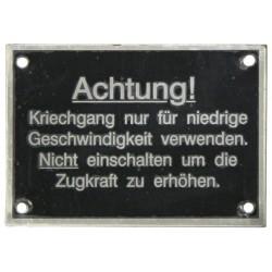 14 Achtung!...Kriechgang...
