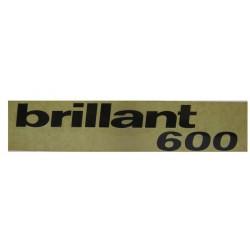 13 Sticker Brillant 600