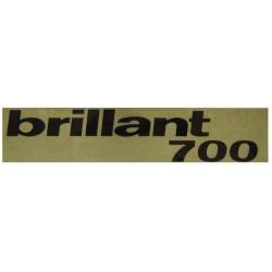 14 Sticker Brillant 700
