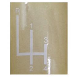 16 Sticker Schakelpatroon Brillant 601 701 Robust 901