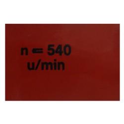 17 Sticker Aftakastoerental Brillant 601 701 Robust 901
