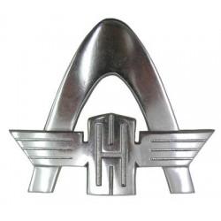 03 Embleem groot gemaakt van aluminium