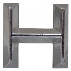 08 Embleem Letter H met een hoogte van 30 mm