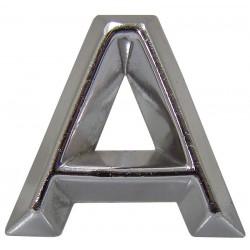 09 Embleem Letter A met een hoogte van 30 mm