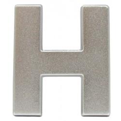 14 Embleem Letter H met een hoogte van 38 mm