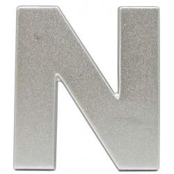 16 Embleem Letter N met een hoogte van 38 mm