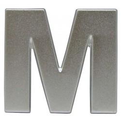 18 Embleem Letter M met een hoogte van 38 mm