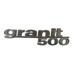 10 Embleem Granit 500