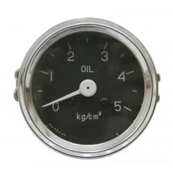 01 Oliedruk meter mechanisch met een bereik van 0 tot 5 bar