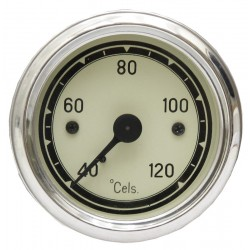 02 Temperatuurmeter mechanisch met de inbouwmaat 60 mm