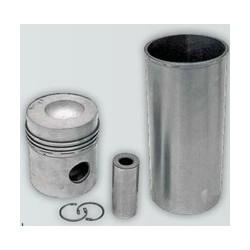 09 Zuiger en cilinderset met 3 zuigerveren