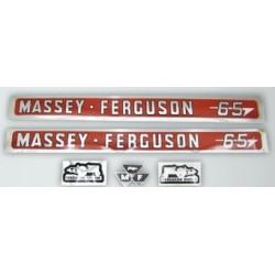 13 Stikker set Massey Ferguson 65