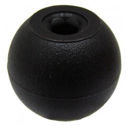 01 Kogelknop met gat 5 mm