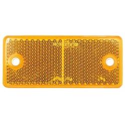 02 Reflectoren rechthoekig oranje 2 gaats