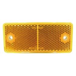 04 Reflectoren rechthoekig zelfklevend oranje