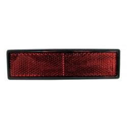 10 Reflectoren rechthoekig zelfklevend rood