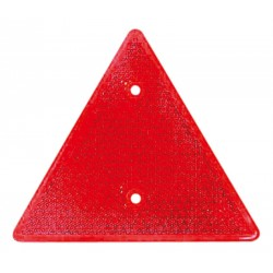 01 Driehoeksreflector rood