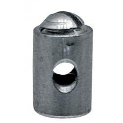 02 Schroefnippel 5 mm dik 7 mm lang