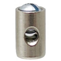 04 Schroefnippel 5 mm dik 8 mm lang Borings-Ø 2.7 mm