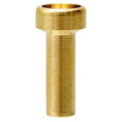 13 Soldeernippel boring 2.3 mm lengte 8 mm Kop Ø 6 mm