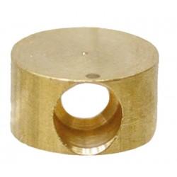 12 Kabel Tonnetje boring 2.2 mm lengte 4.5 mm