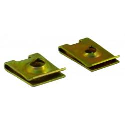 11 Plaatmoer 6.3 mm per stuk