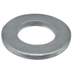 08 Vlakke sluitringen 8.4 mm kunststof per 100