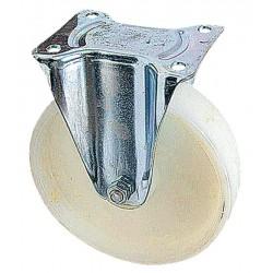 01 Polyamide bokwiel met kogellager 100 mm