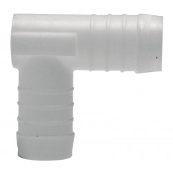 06 PVC bocht voor slang 10 mm