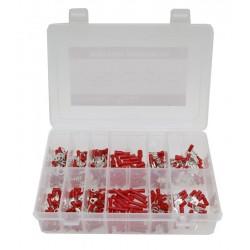 03 Assortiment kabelschoentjes 275-delig rood