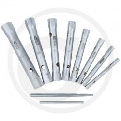 18 Pijpsleutelset 10-delig 6x7-20x22 mm