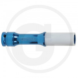 01 Dopsleutel voor alu-velgen extra lang 17 mm