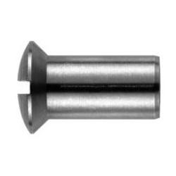 06 Hulsmoer 6 x 14 mm lenskop met zaagsnede 25 stuks