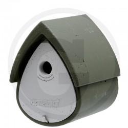 01 Schwegler Vogelhuisje groen / wit