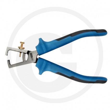 03 KS Tools ERGOTORQUEplus® Abisolierzange, 180 mm