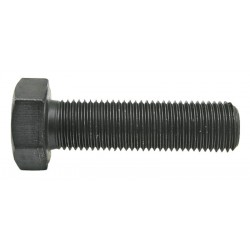 03 Bout M12 x 1.25 x 30 mm lang 10.9 zwart