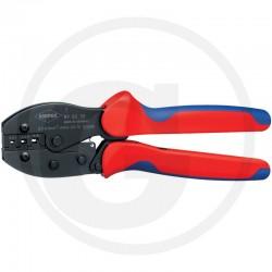 03 KNIPEX Krimptang geïsoleerde kabelschoentjes